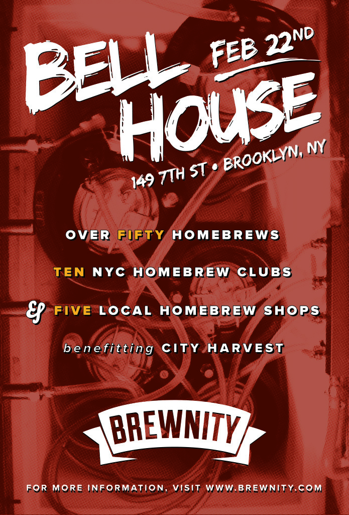Brewnity at the Bell House poster